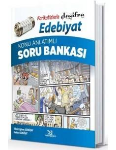 Yayın Denizi Karikatürlerle Deşifre Edebiyat Konu Anlatımlı Soru Bankası