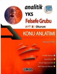 Merkez Yayınları AYT Felsefe Grubu Analitik Konu Anlatımı