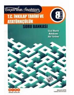 Merkez Yayınları 8. Sınıf T.C. İnkılap Tarihi ve Atatürkçülük Soru Bankası