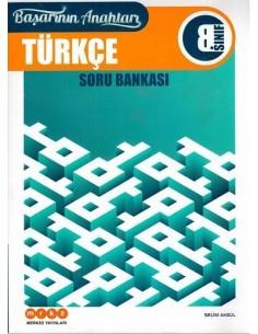 Merkez Yayınları 8. Sınıf Türkçe Soru Bankası