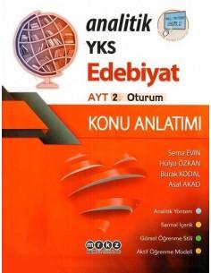 Merkez Yayınları AYT Analitik Edebiyat Konu Anlatımlı