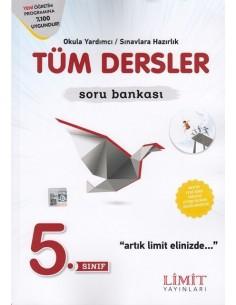 Limit Yayınları 5.Sınıf Tüm Dersler Soru Bankası