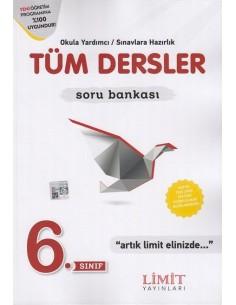 Limit Yayınları 6.Sınıf Tüm Dersler Soru Bankası