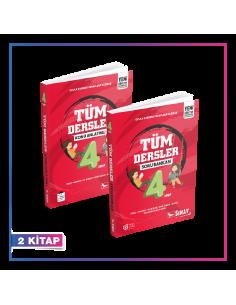 Sınav Yayınları 4. Sınıf Tüm Dersler Kampanyalı Set (2 Kitap)