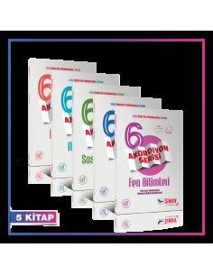 Sınav 6. Sınıf Tüm Dersler Konu Anlatımlı Akordiyon Kazandıran Set (5 Kitap)