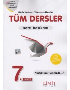 Limit Yayınları 7.Sınıf Tüm Dersler Soru Bankası