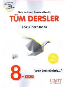 Limit Yayınları 8.Sınıf Tüm Dersler Soru Bankası