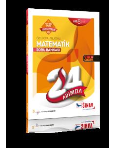 Sınav Yayınları 8. Sınıf LGS Matematik 24 Adımda Özel Konu Anlatımlı Soru Bankası