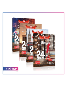 Sınav Yayınları LGS Sözel 24 Deneme Kampanyalı Set (4 Kitap)
