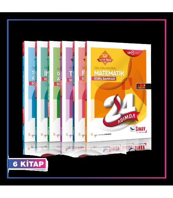 Sınav Yayınları LGS Tüm Dersler Yaprak Test Kampanyalı Set (6 Kitap)
