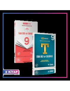 Sınav Yayınları 9. Sınıf Türk Dili ve Edebiyatı Kazandıran Set (2 Kitap)