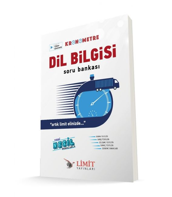 Limit Yayınları TYT Kronometre Dil Bilgisi Soru Bankası