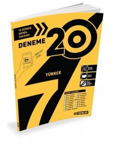 Hız Yayınları 8. Sınıf 20'li Türkçe Deneme - 2019