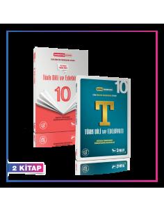 Sınav Yayınları 10. Sınıf Türk Dili ve Edebiyatı Kazandıran Set (2 Kitap)
