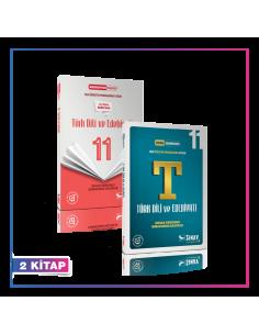Sınav Yayınları 11. Sınıf Türk Dili ve Edebiyatı Kazandıran Set (2 Kitap)