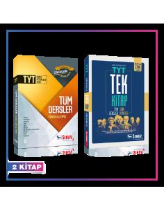 Sınav Yayınları TYT Tüm Dersler Konu Soru Kampanyalı Set (2 Kitap)