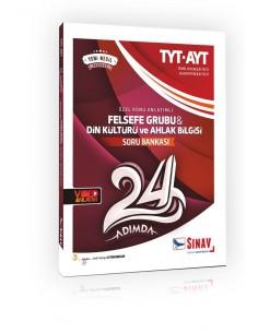 Sınav Yayınları TYT AYT Felsefe Grubu 24 Adımda Özel Konu Anlatımlı Soru Bankası