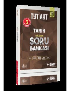 Sınav Yayınları TYT Tarih Full Çeken Soru Bankası