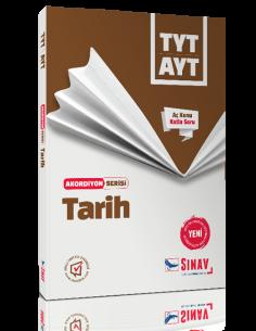 Sınav Yayınları TYT-AYT Tarih Akordiyon Kitap