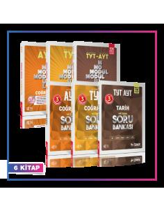 Sınav Yayınları TYT AYT Sosyal Bilimler Konu Soru Kampanyalı Set (6 Kitap)