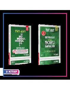 Sınav Yayınları TYT AYT Biyoloji Konu Soru Kampanyalı Set (2 Kitap)