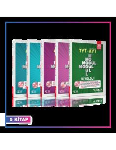 Sınav Yayınları TYT AYT Fen Bilimleri Konu Anlatımlı Modül Modül Kampanyalı Set (5 Kitap)
