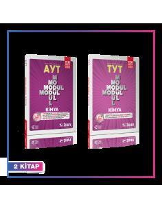 Sınav Yayınları TYT AYT Kimya Konu Anlatımlı Kampanyalı Set (2 Kitap)