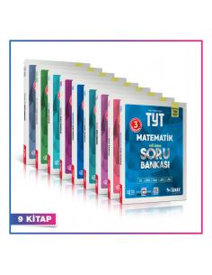 Sınav Yayınları TYT AYT Sayısal Soru Bankası Kampanyalı Set (9 Kitap)