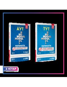 Sınav Yayınları TYT AYT Matematik Modül Modül Kampanyalı Set (2 Kitap)