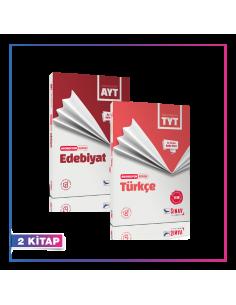 Sınav Yayınları TYT AYT Türkçe Edebiyat Akordiyon Kampanyalı Set (2 Kitap)