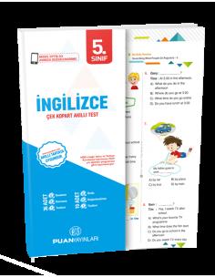 Puan Yayınları 5. Sınıf İngilizce Akıllı Test