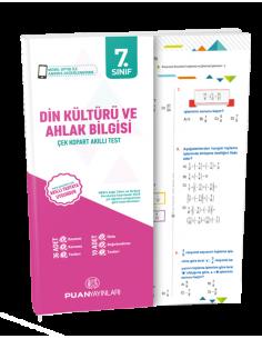Puan Yayınları 7. Sınıf Din Kültürü ve Ahlak Bilgisi Akıllı Test