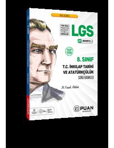 Puan Yayınları 8. Sınıf LGS T.C. İnkılap Tarihi ve Atatürkçülük Soru Bankası