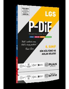Puan Yayınları 8. Sınıf LGS Din Kültürü PDİF Konu Anlatım Föyleri