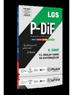 Puan Yayınları 8. Sınıf LGS T.C. İnkılap Tarihi PDİF Konu Anlatım Föyleri