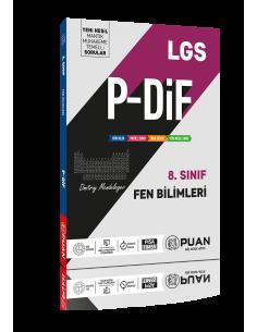 Puan Yayınları 8. Sınıf LGS Fen Bilimleri PDİF Konu Anlatım Föyleri