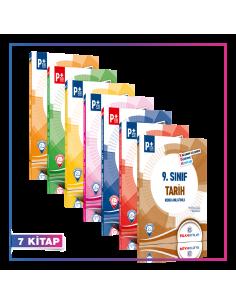 Puan Yayınları 9. Sınıf Tüm Dersler Kök Konu Anlatımlı Kampanyalı Set (7 Kitap)