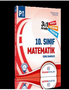 Puan Yayınları 10. Sınıf Matematik 3'ü 1 Arada Soru Bankası