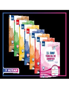 Puan Yayınları 11. Sınıf Tüm Dersler Kök Konu Anlatımlı Kampanyalı Set (7 Kitap)