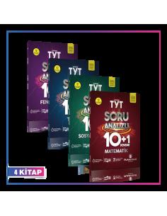 Puan Yayınları TYT Eşit Ağırlık Kampanyalı 10+1 Deneme Seti (4 Kitap)