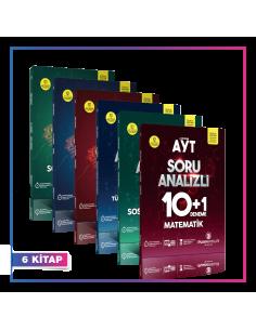 Puan Yayınları TYT AYT Eşit Ağırlık 10+1 Deneme Kampanyalı Set (6 Kitap)