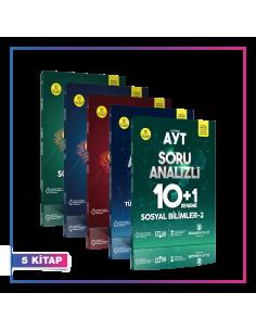 Puan Yayınları TYT AYT Sözel 10+1 Deneme Kampanyalı Set (5 Kitap)