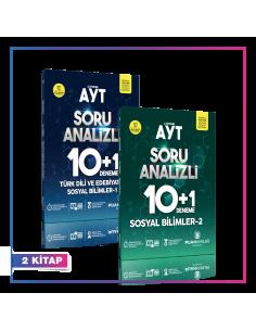 Puan Yayınları AYT Sözel 10+1 Kampanyalı Deneme Seti (2 Kitap)