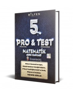 Bilfen Yayınları 5. Sınıf ProTest Matematik Soru Bankası