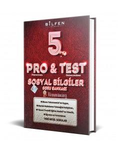 Bilfen Yayınları 5. Sınıf ProTest Sosyal Bilgiler Soru Bankası