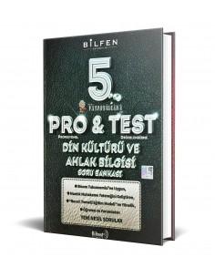 Bilfen Yayınları 5. Sınıf ProTest Din Kültürü Soru Bankası