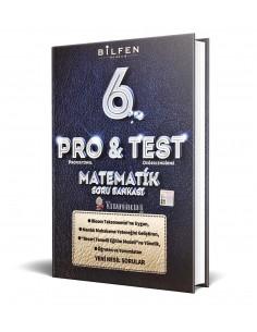 Bilfen Yayınları 6. Sınıf ProTest Matematik Soru Bankası