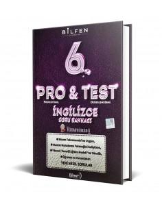 Bilfen Yayınları 6. Sınıf ProTest İngilizce Soru Bankası