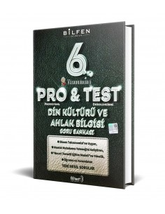 Bilfen Yayınları 6. Sınıf ProTest Din Kültürü Soru Bankası