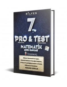 Bilfen Yayınları 7. Sınıf ProTest Matematik Soru Bankası